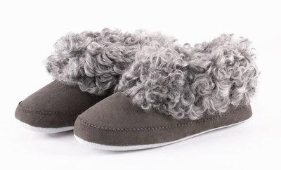 Shepherd pantoffels Svea Asphalt