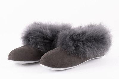 Shepherd pantoffels Annelie Asphalt