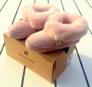 Shepherd pantoffels Pitea Pink