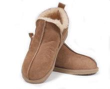 Leren pantoffels